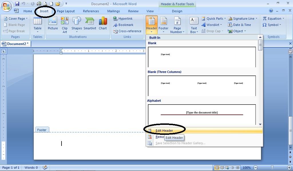 Membuat Nomor Halaman Otomatis Untuk Tugas Akhir / Skripsi